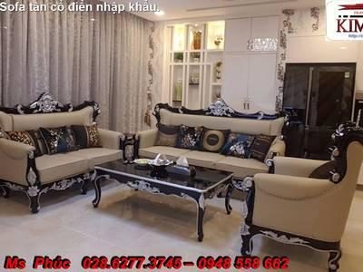 Mua sofa cổ điển giá tại xưởng - ngồi 1 chỗ mua hàng hiệu không lo về giá: Nội thất Kim Anh 3