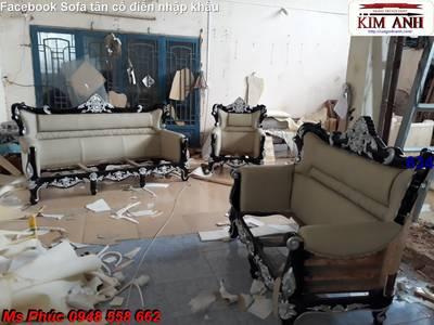Mua sofa cổ điển giá tại xưởng - ngồi 1 chỗ mua hàng hiệu không lo về giá: Nội thất Kim Anh 4
