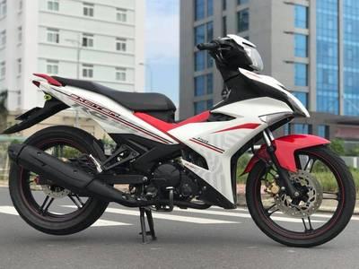 Bán xe Yamaha Exciter 150 màu trắng đỏ đời 2018. Xe nguyên bản đẹp 3
