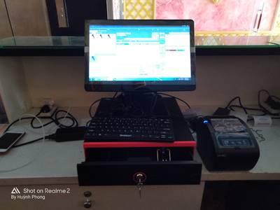 Máy tính tiền cho quán karaoke tại Bình Định 0
