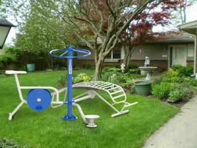 Bán máy tập công viên - Chuyên lắp đặt thiết bị thể thao ngoài trời 8