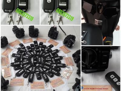 Ổ Khóa núm hãng honda smartkey-SAKI-J8000 bảo hành 1 năm 0