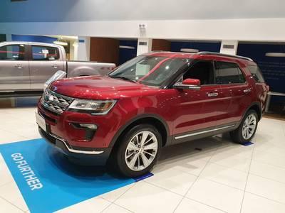 Ford Hải Dương Bán Xe Ford Exploer 2020 Trả Góp, LH: Mr Dũng 0909 983 555 0