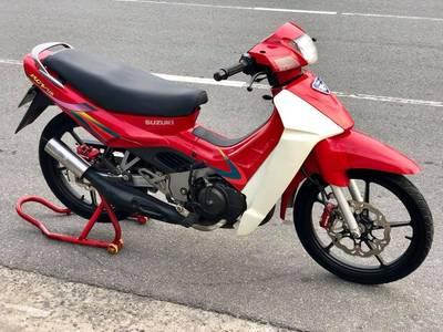 Bán Suzuki Xipo 120 Đỏ Trắng Full đồ chơi. Giá 26 triệu 0