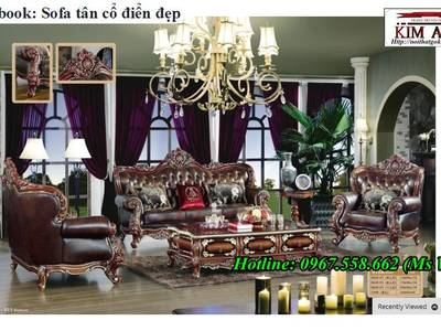 Chuyên bán sofa tân cổ điển đẹp cao cấp đẳng cấp đại gia 10