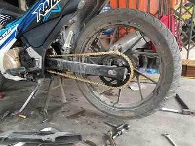 Nhông xích vàng Thailand, cho các loại xe máy. 10