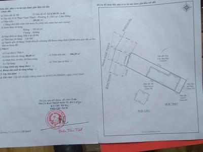 Bán lô đất thổ cư 336m2 đường Phạm Ngọc Thạch,P.6 TP Đà Lạt. 0