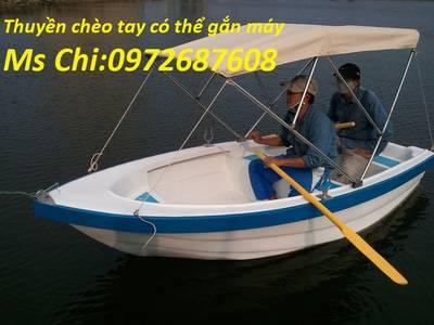 Thuyền Composite cho 3 - 4 người giá rẻ 0