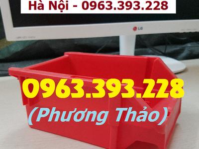 Chuyên cung cấp Khay nhựa xếp chồng, hộp nhựa đựng ốc vít trong gara ô tô 2