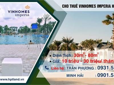 Cho thuê Căn Hộ 9tr- 12tr- 15tr/ tháng Vinhomes Imperria - Hải Phòng loại 1-2 phòng ngủ 1