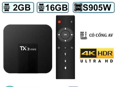 Android Tivi Box Tanix TX3 Mini Ram 2Gb Rom 16GB 0