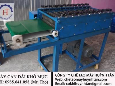 Máy cán mực giá rẽ Tp, HCM - Cty chế tạo máy Huỳnh Tấn 0