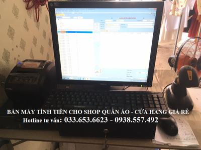 Bán phần mềm tính tiền cho shop quần áo tại Bình Phước 1