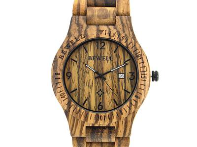 Đồng hồ đeo tay gỗ đàn hương đỏ, Đồng hồ đeo tay bằng gỗ, Đồng hồ nam bằng gỗ 2
