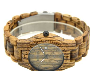 Đồng hồ đeo tay gỗ đàn hương đỏ, Đồng hồ đeo tay bằng gỗ, Đồng hồ nam bằng gỗ 4