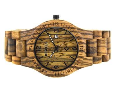 Đồng hồ đeo tay gỗ đàn hương đỏ, Đồng hồ đeo tay bằng gỗ, Đồng hồ nam bằng gỗ 5
