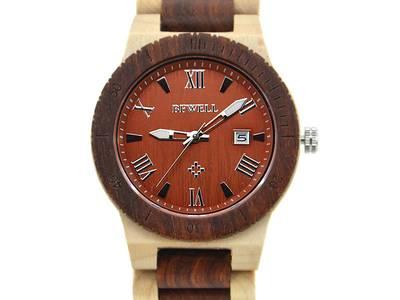 Đồng hồ đeo tay bằng gỗ cao cấp, Đồng hồ nam đeo tay bằng gỗ mun, Đồng hồ gỗ hương 0