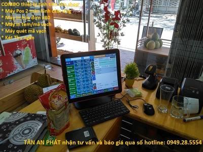 Setup full thiết bị   phần mềm quản lý bán hàng cho Shop hoa quả tại Đà Lạt 2