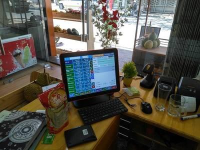 Setup full thiết bị   phần mềm quản lý bán hàng cho Shop hoa quả tại Đà Lạt 3