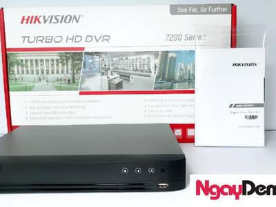Đầu ghi  4 kênh TVI Hikvision 2