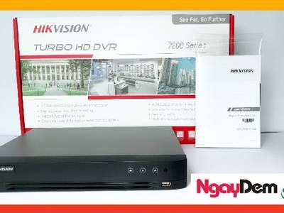 Đầu ghi  4 kênh TVI Hikvision 4