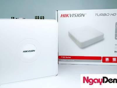Đầu ghi hình Hybrid TVI-IP 4 kênh TURBO 4.0 Hikvision 0
