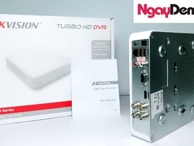 Đầu ghi hình Hybrid TVI-IP 4 kênh TURBO 4.0 Hikvision 1