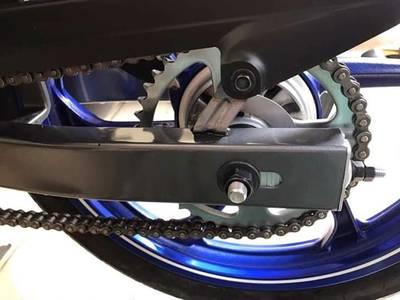 Bán nhanh xe YAZ màu xanh nhập khẩu 100% 1