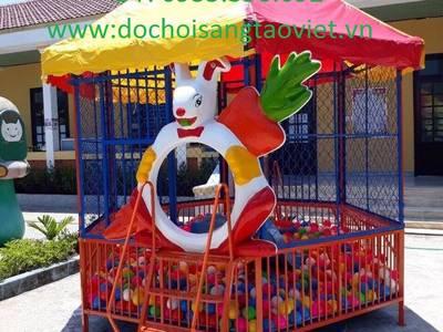 Nhà banh đồ chơi được sản xuất tại https:dochoisangtaoviet 2