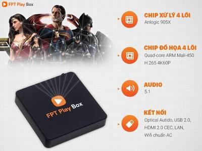 FPT Play Box 2019 - còn nguyên BH , chưa Box Tem, MAC 0