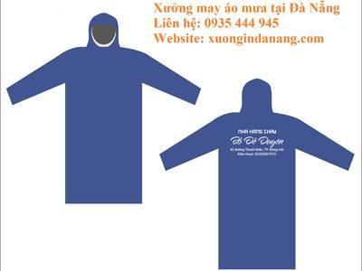 Sản xuất áo mưa tại Huế, in áo mưa tại Huế, in áo mưa quảng cáo tại Huế 0