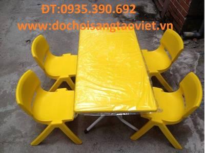 Bàn ghế mầm non,bàn ghế giá siêu rẻ 5