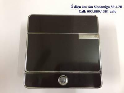 Phân phối ổ điện âm sàn, hộp ổ cắm điện âm bàn chính hãng Sinoamigo các model lắp 3 modules, 6 modul 10