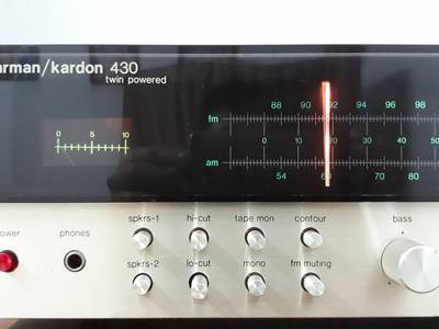 Amply harman/kardon 430   Loa dynaco A25 5