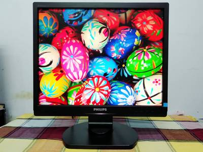 LCD 17inch gia re Philips   Model 17S1SB, mới 90 0