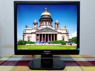 LCD 17inch gia re Philips   Model 17S1SB, mới 90 1