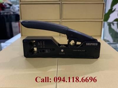 Phân phối dụng cụ làm mạng kìm bấm mạng chuyên dụng Cat6A/Cat7 hãng Shipuco 9