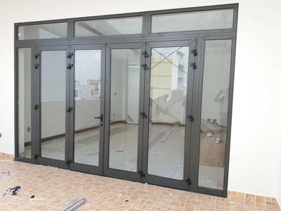 Cửa nhôm kính, cửa kính cường lực đẹp tại Hải Phòng 0
