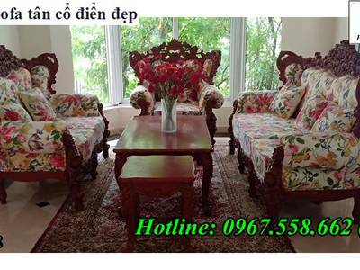 Xưởng sản xuất bàn ghế sofa phong cách tân cổ điển uy tín chất lượng 15
