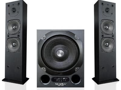 Loa vi tính Soundmax AW300 2.1 đọc thẻ SD, usb, bluetooth, remote chính hãng 3