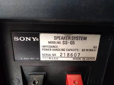 Loa Sony G5 Vintage trùng cặp 4