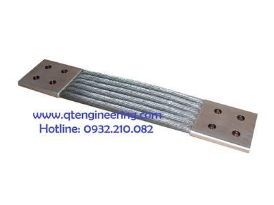 Dây đồng bện, thanh cái mềm, flexible busbar, thanh nối mềm, thanh đồng mềm 0