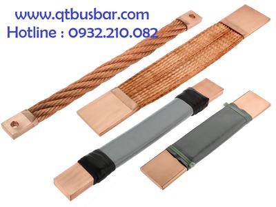 Dây đồng bện, thanh cái mềm, flexible busbar, thanh nối mềm, thanh đồng mềm 8