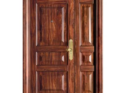 Cửa 2 cánh, cửa chính vân gỗ ankovina AKS 014A-B 0