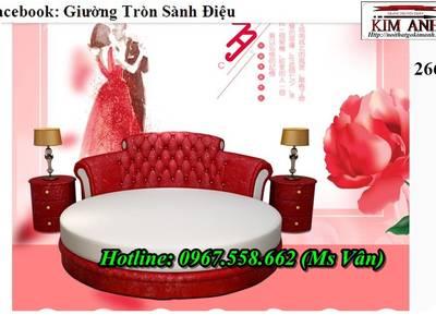 Xưởng sản xuất giường tròn công trình nhà nghỉ khách sạn đẹp giá rẻ 6