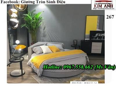 Xưởng sản xuất giường tròn công trình nhà nghỉ khách sạn đẹp giá rẻ 7