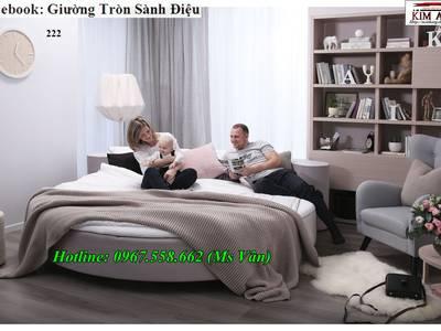 Xưởng sản xuất giường tròn công trình nhà nghỉ khách sạn đẹp giá rẻ 12