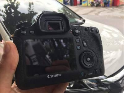 Body Canon 6D khá mới, zin 100 0