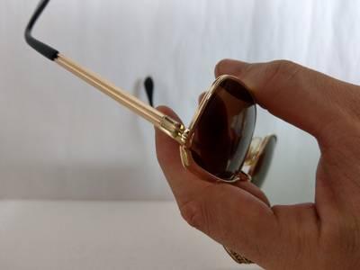 Kính Metzler    Germany dáng đòn gánh bọc vàng 1/20/10K. 4
