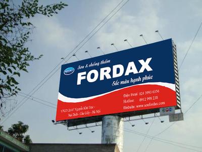Hãng sơn FORDAX mở đại lý tại Nam Định 4
